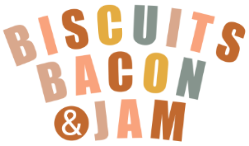 Biscuits Bacon and Jam